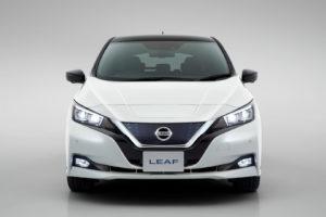Eкстер'єр Nissan Leaf 2018