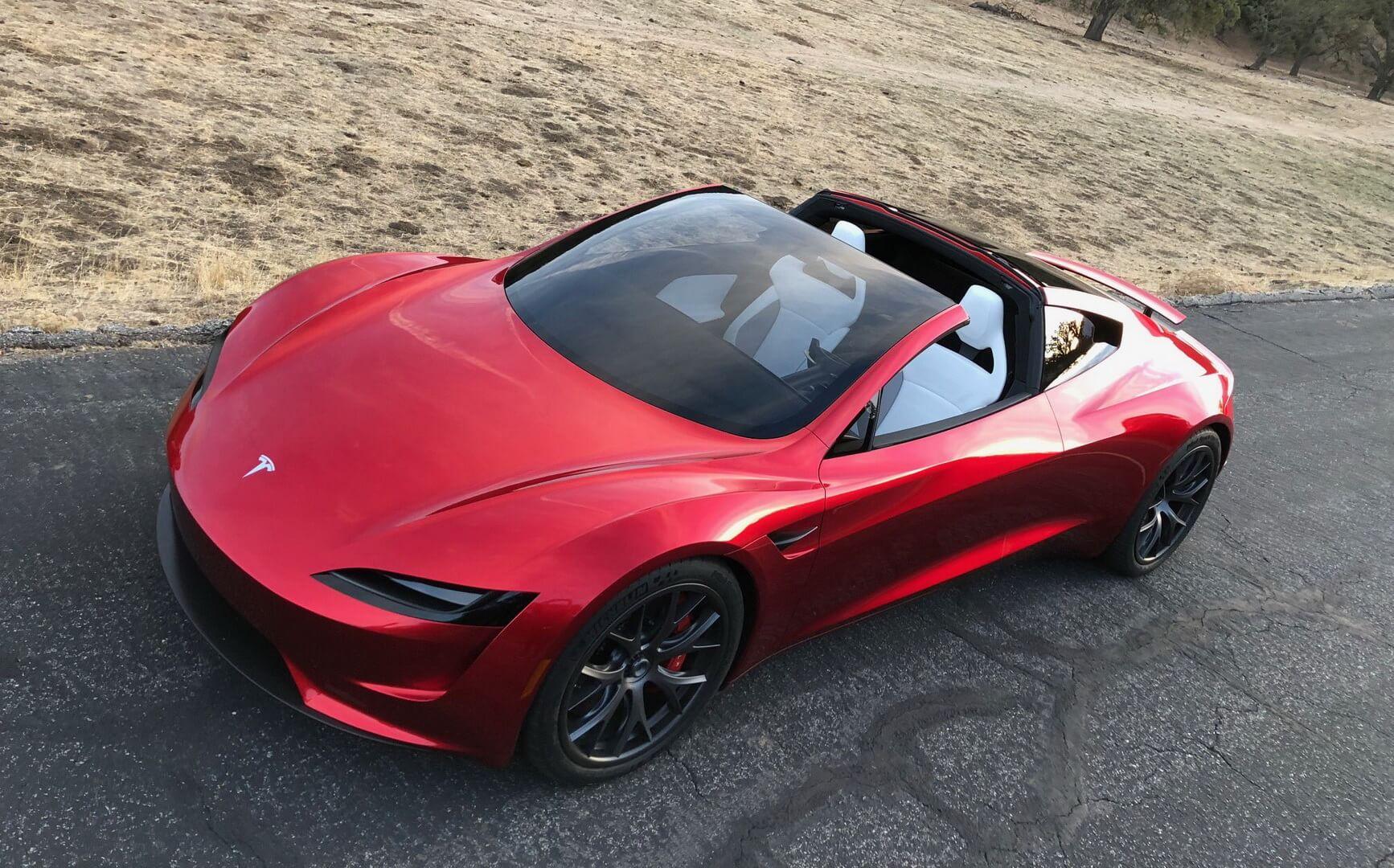 Електрокар Tesla Roaster 2 — фото 3