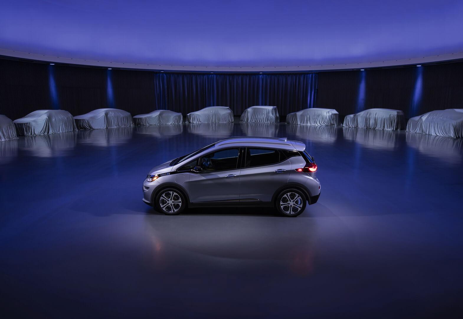Плани General Motors на виробництво електрокарів