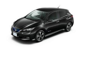 Електромобіль Nissan Leaf 2018 — колір black