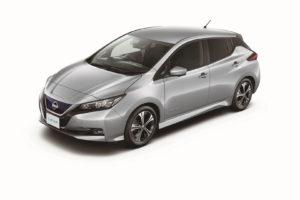 Електромобіль Nissan Leaf 2018 — колір gray