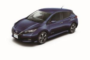 Електромобіль Nissan Leaf 2018 — колір purple