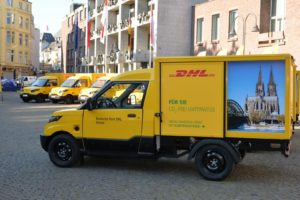 Електричний фургон Streetscooter для DHL