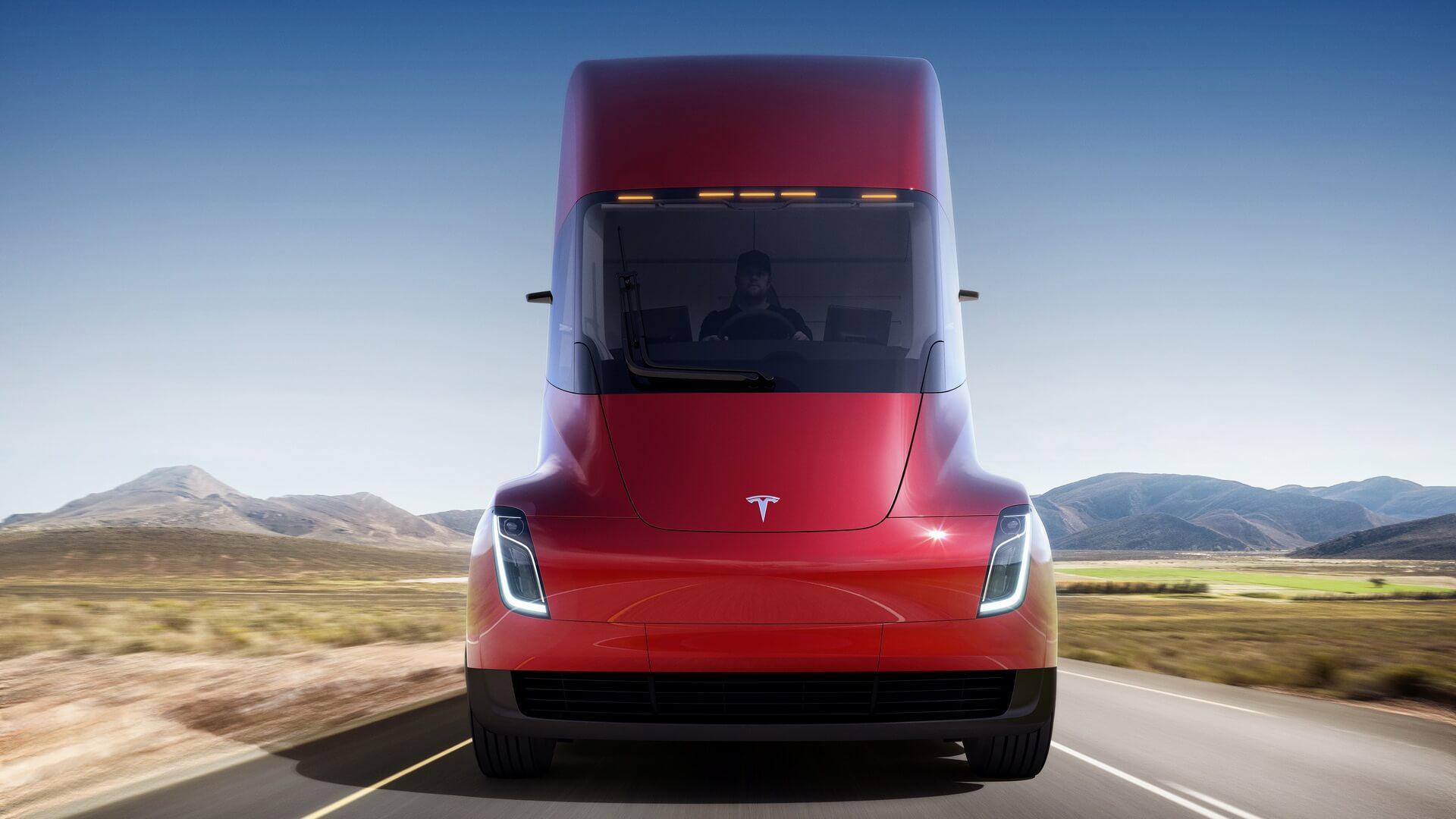 Електрична вантажівка Tesla Semi