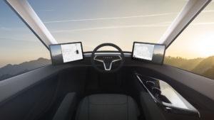 Інтерьер Tesla Semi — фото 3