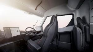 Інтерьер Tesla Semi — фото 2