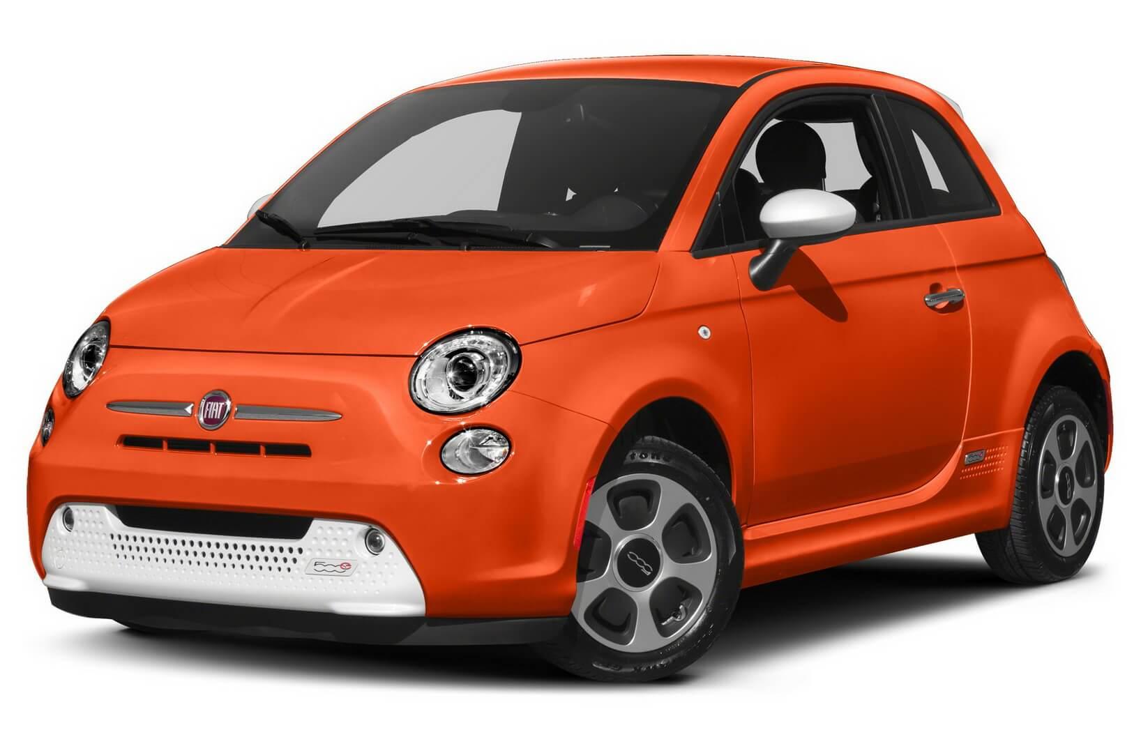 №5 — електромобіль Fiat 500e