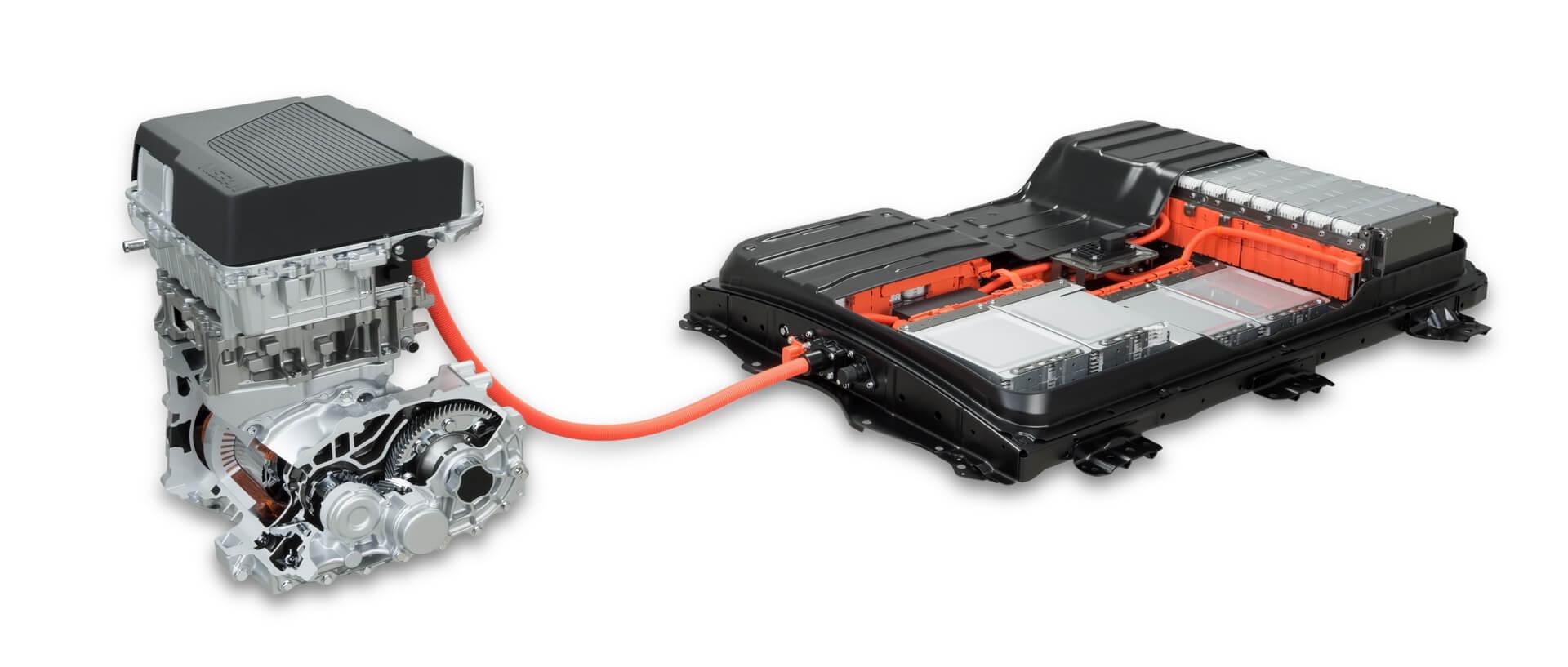 Електродвигун та акумулятор Nissan Leaf 2018