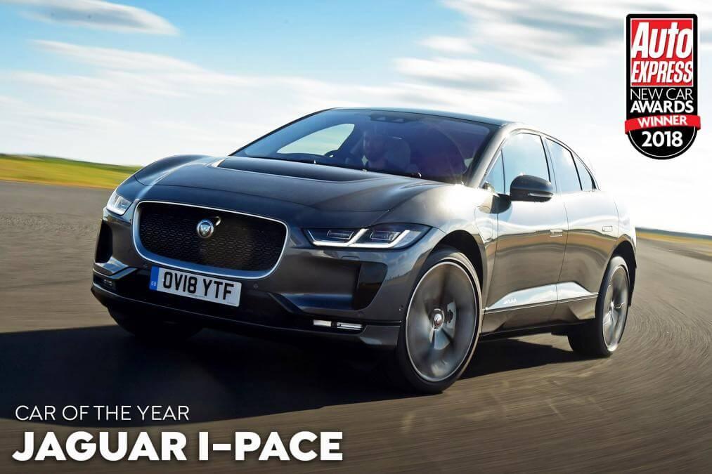 Головну нагороду New Car Awards 2018 отримав електромобіль Jaguar I-Pace