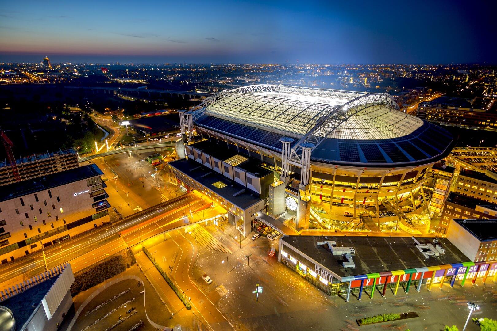 148 батарей Nissan Leaf будуть живити стадіон в Амстердамі