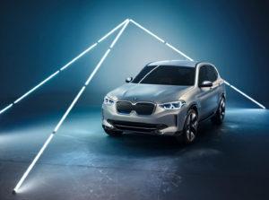 Концепт електричного кросовера BMW iX3
