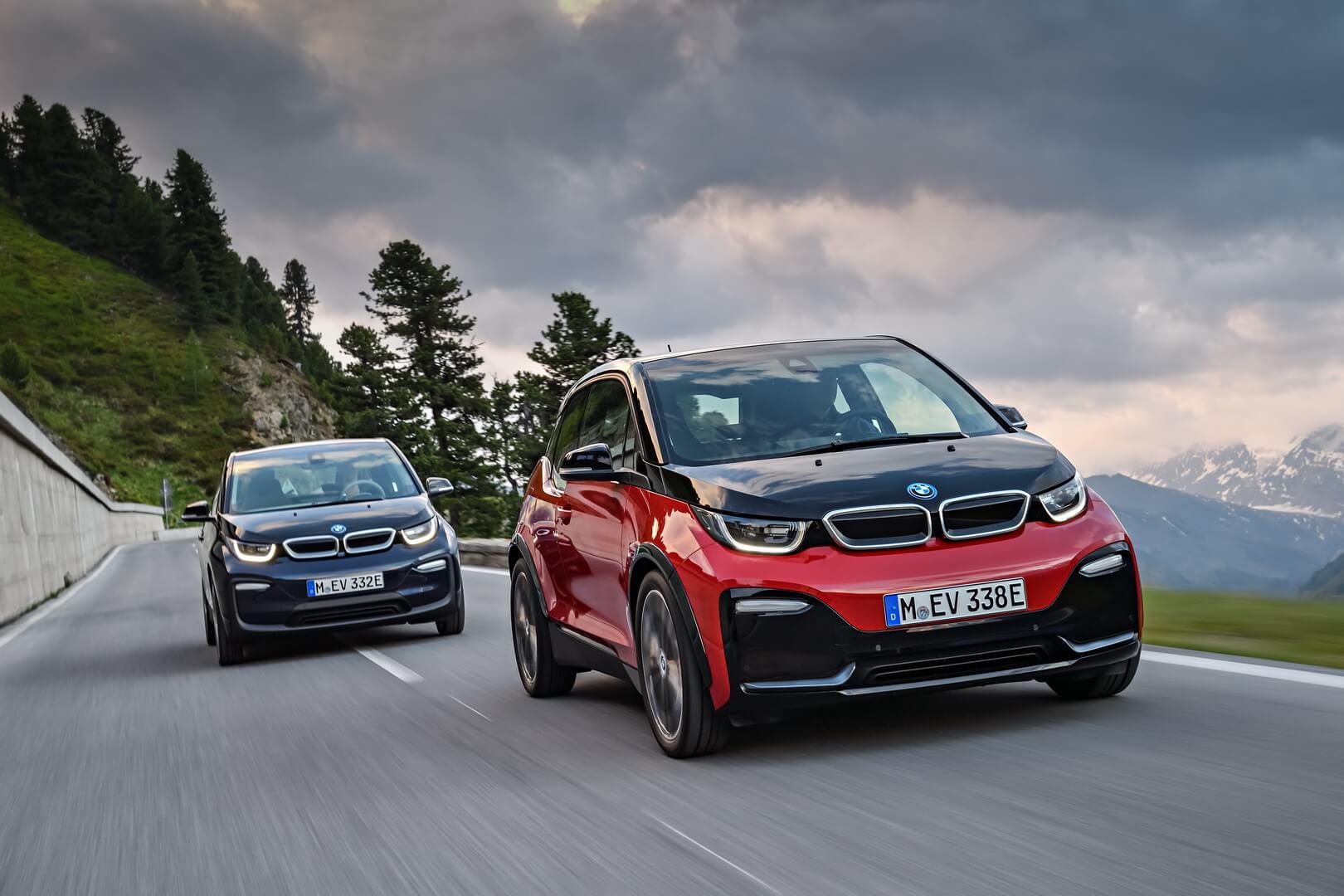 Поточні версії BMW i3і i3s 2018 модельного року