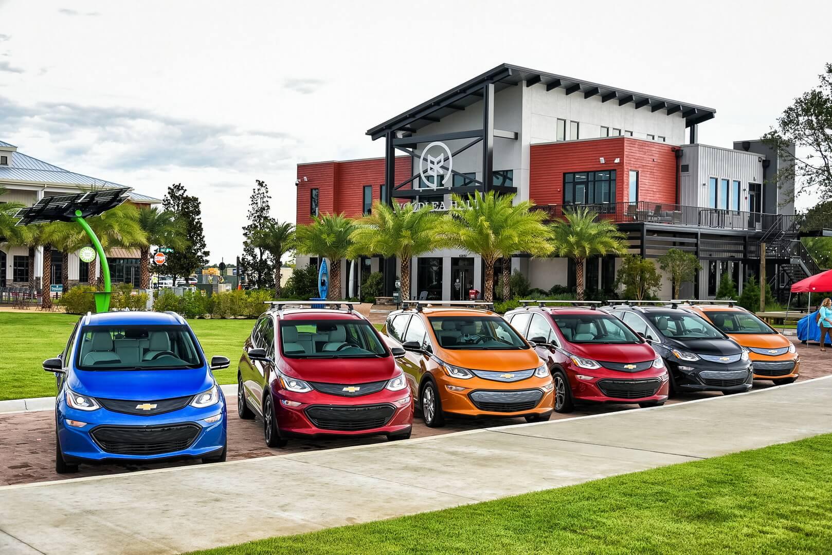 Електромобілі Chevrolet Bolt EV