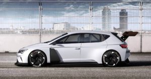 Електричний гоночний автомобіль Cupra e-Racer