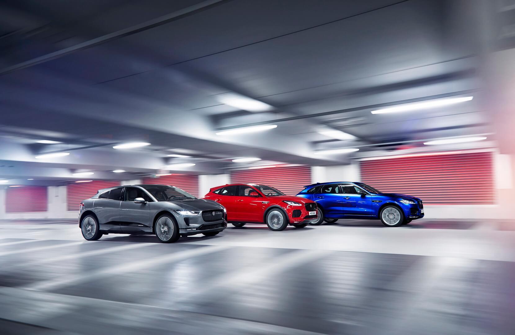 Електричні кросовери Jaguar I-Pace
