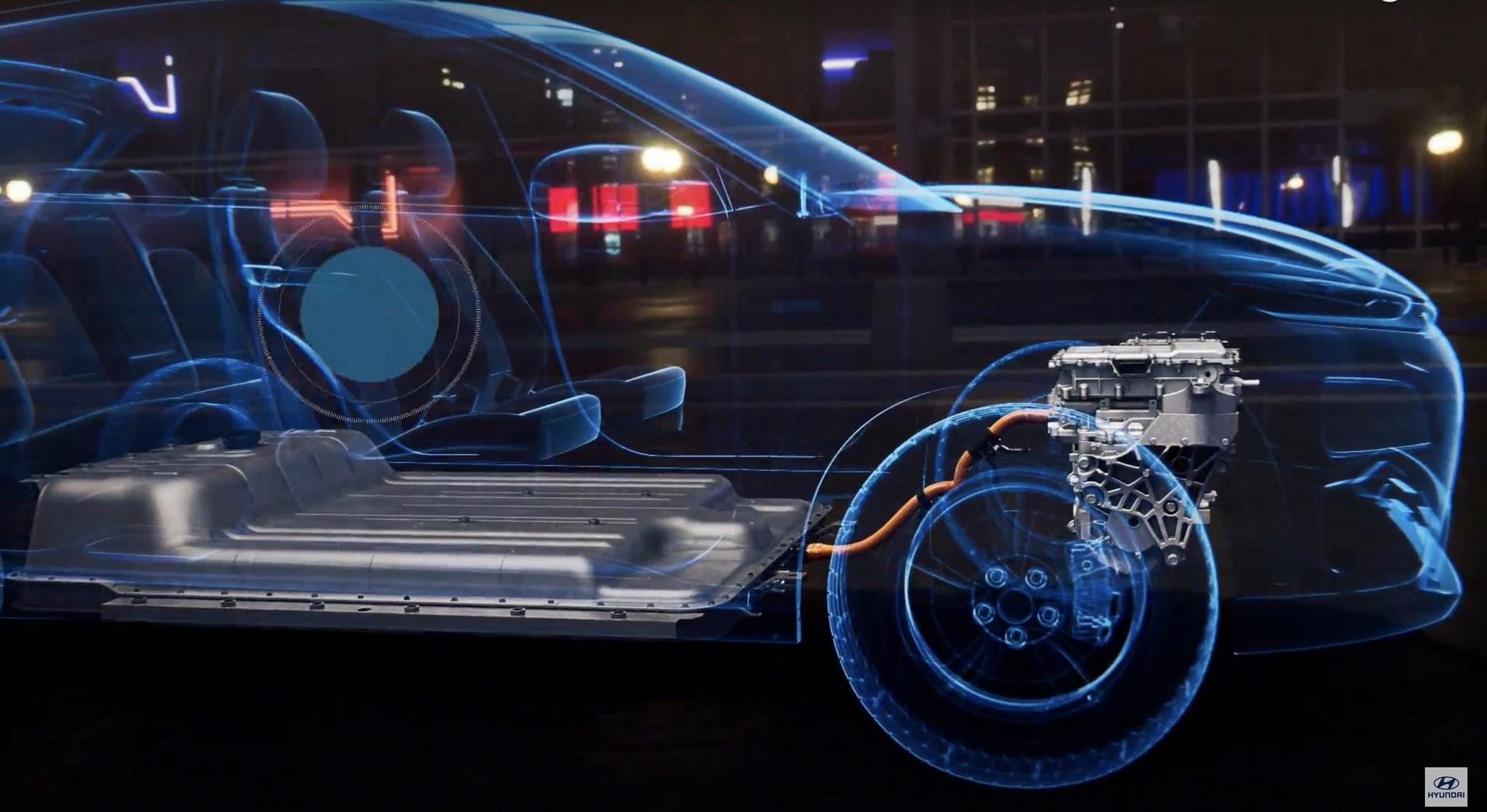 Батарея в Hyundai Kona EV