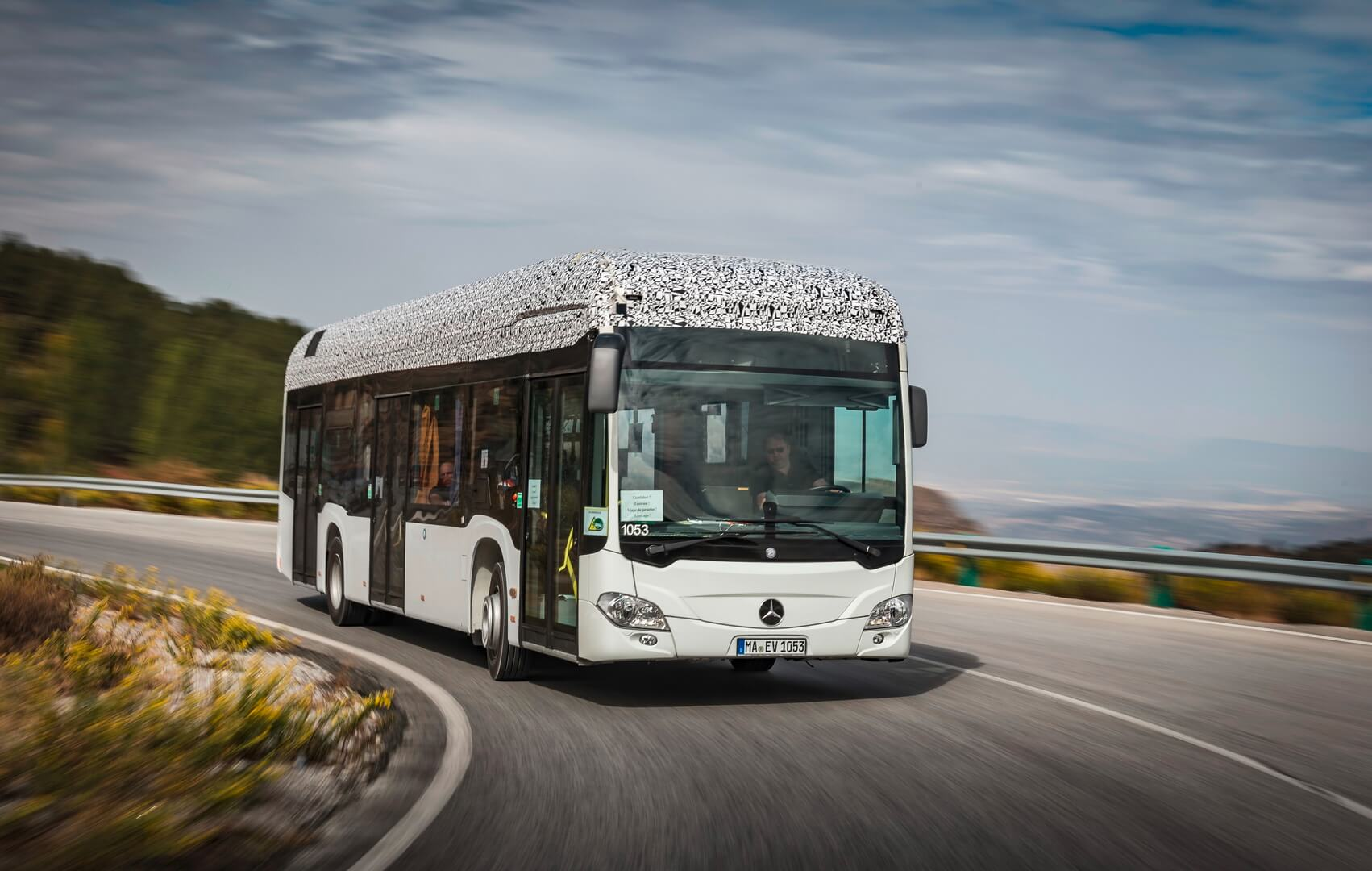 Електричний автобус Mercedes-Benz Citaro