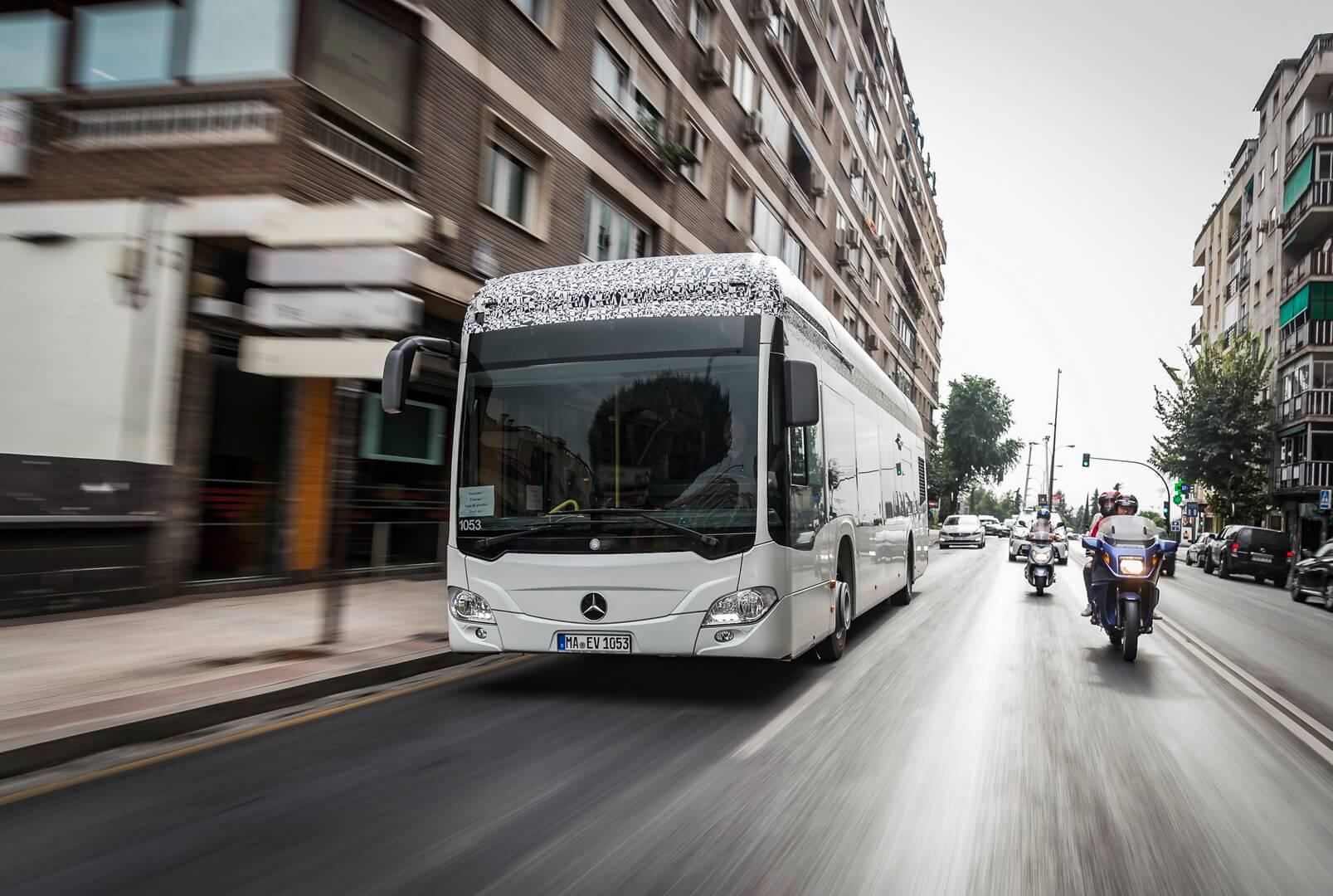 Електробус Mercedes-Benz Citaro