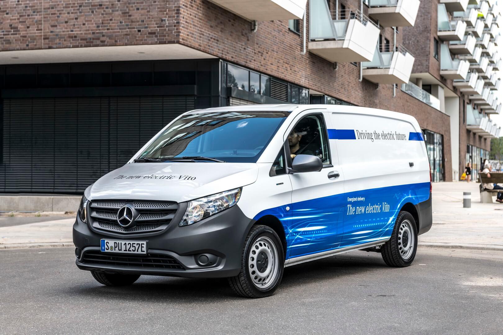 Електрофургон Mercedes-Benz eVito