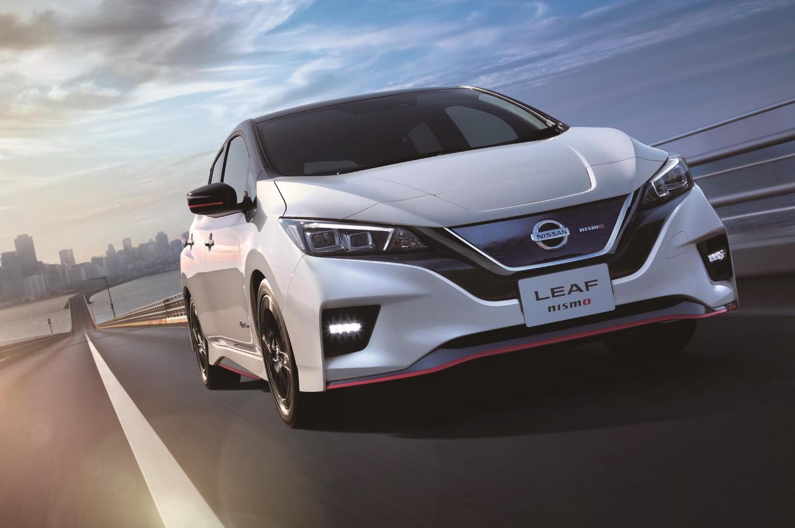Nissan Leaf випустив заряджену версію Nismo
