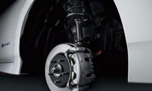 Підвіска і гальмівні супорти Nissan Leaf Nismo