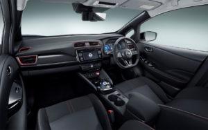 Салон Nissan Leaf Nismo