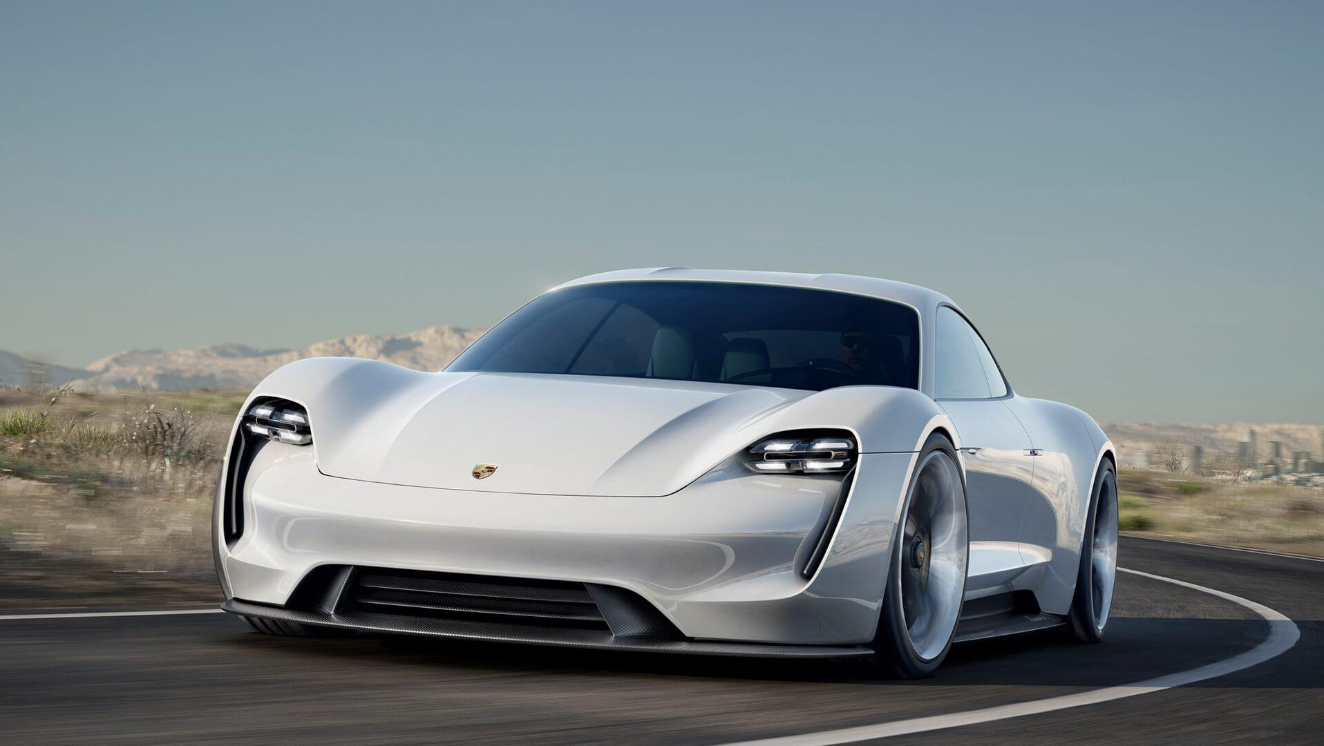 Taycan— нова назва електромобіля Porsche Mission E