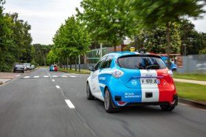Автономна службу проката авто на базі Renault ZOE