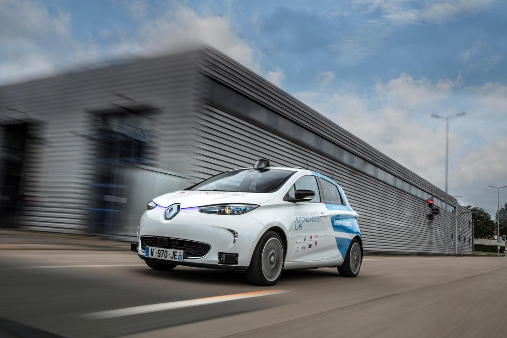 Автономний електромобіль Renault ZOE