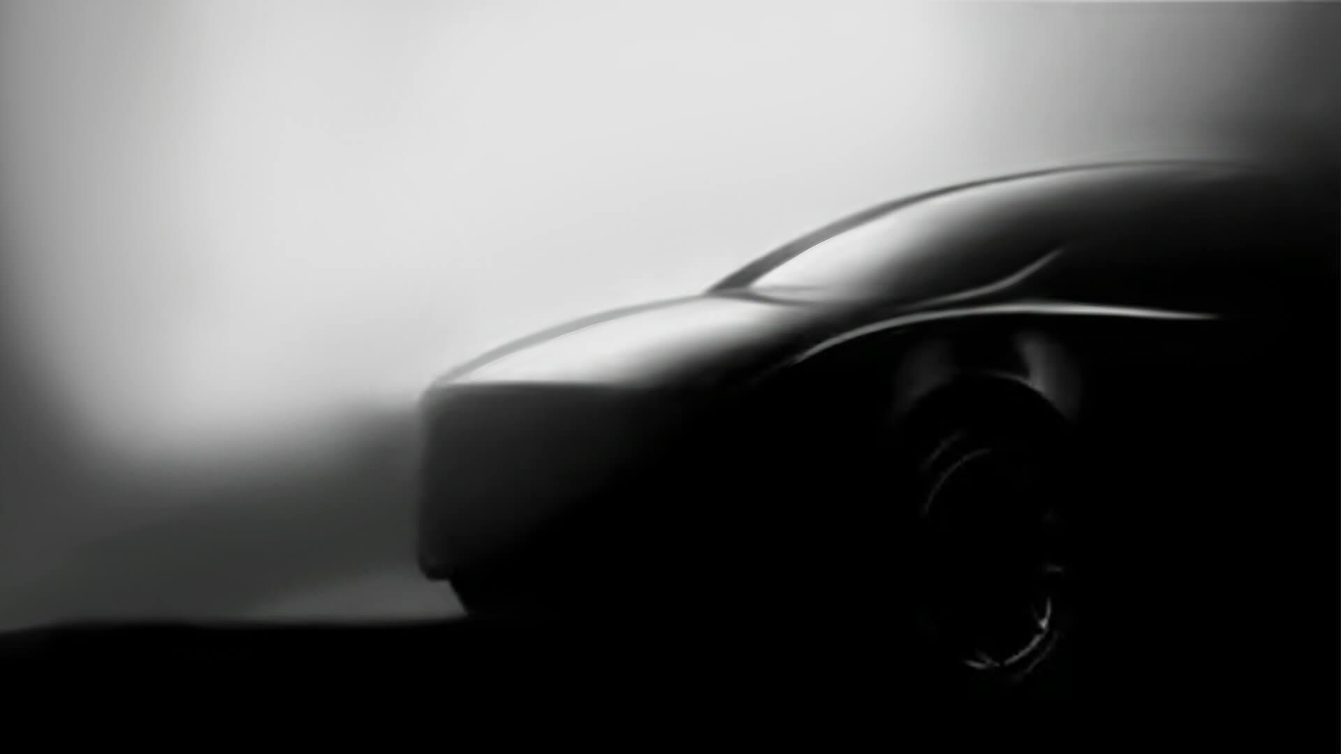 Другий тизер електричного кроссовера Tesla Model Y