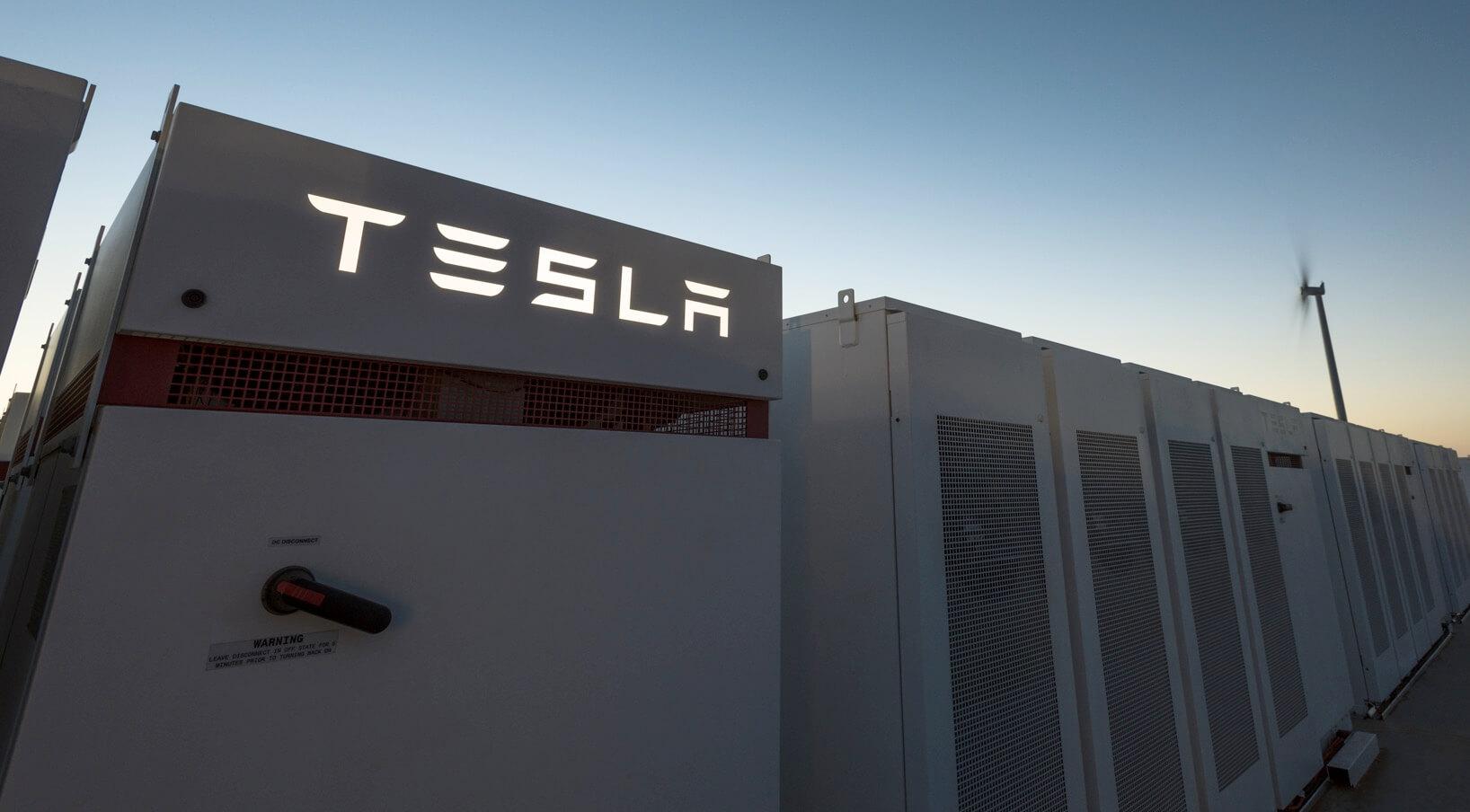 Tesla Powerpack вПівденній Австралії