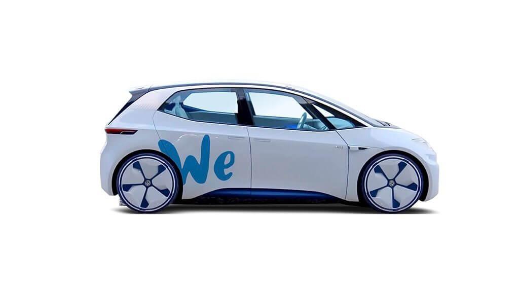 Концепт Volkswagen I.D. наплатформіWE