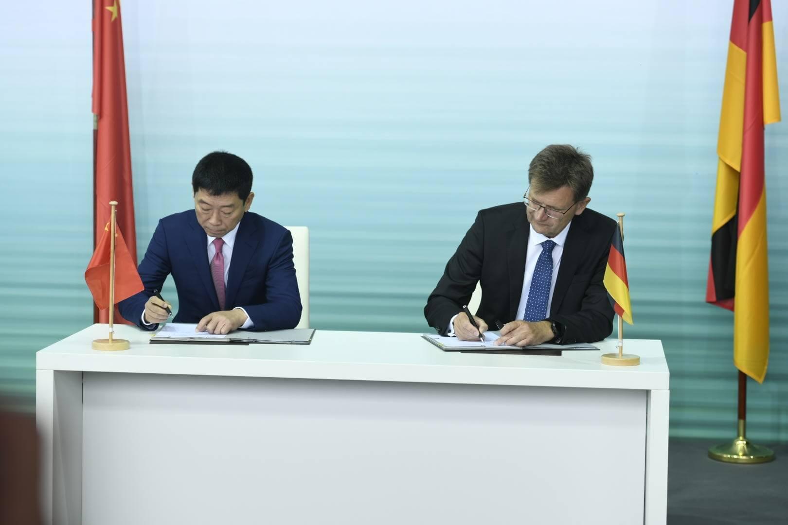 BMW Group ікитайський виробник Great Wall Motor підписують контракт