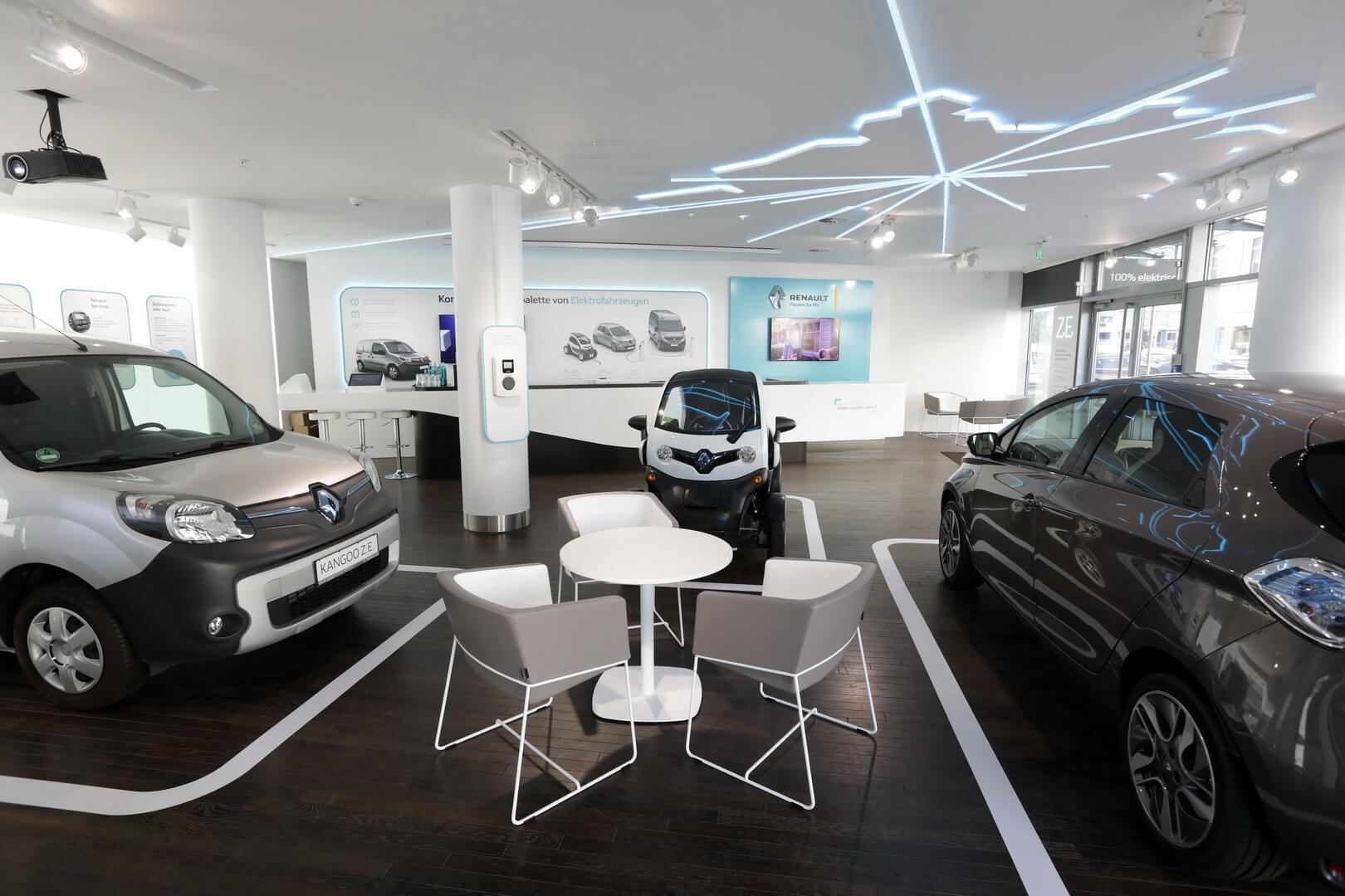 Електромобілі Renault