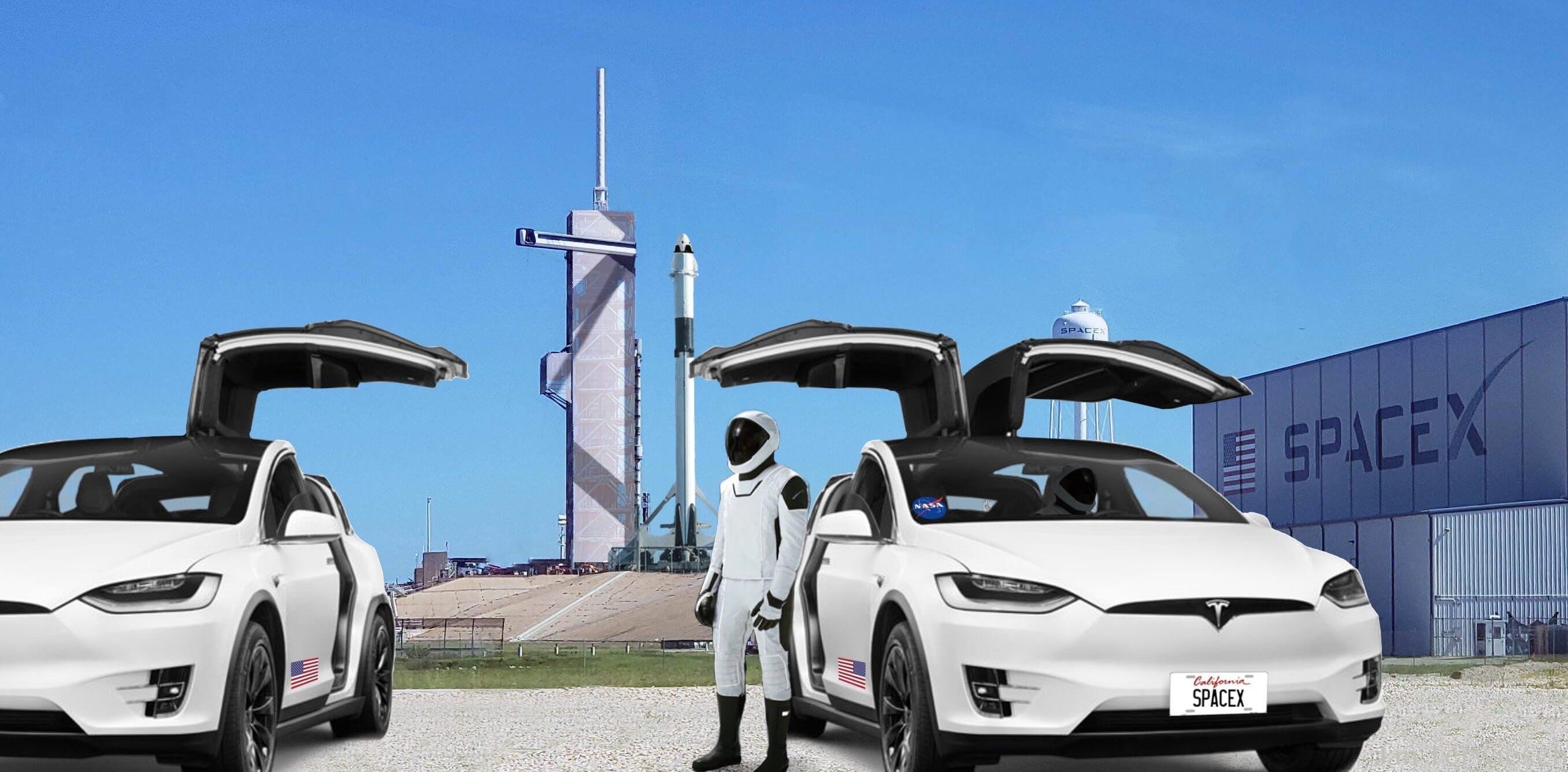 Електричні кросоверы Tesla Model X