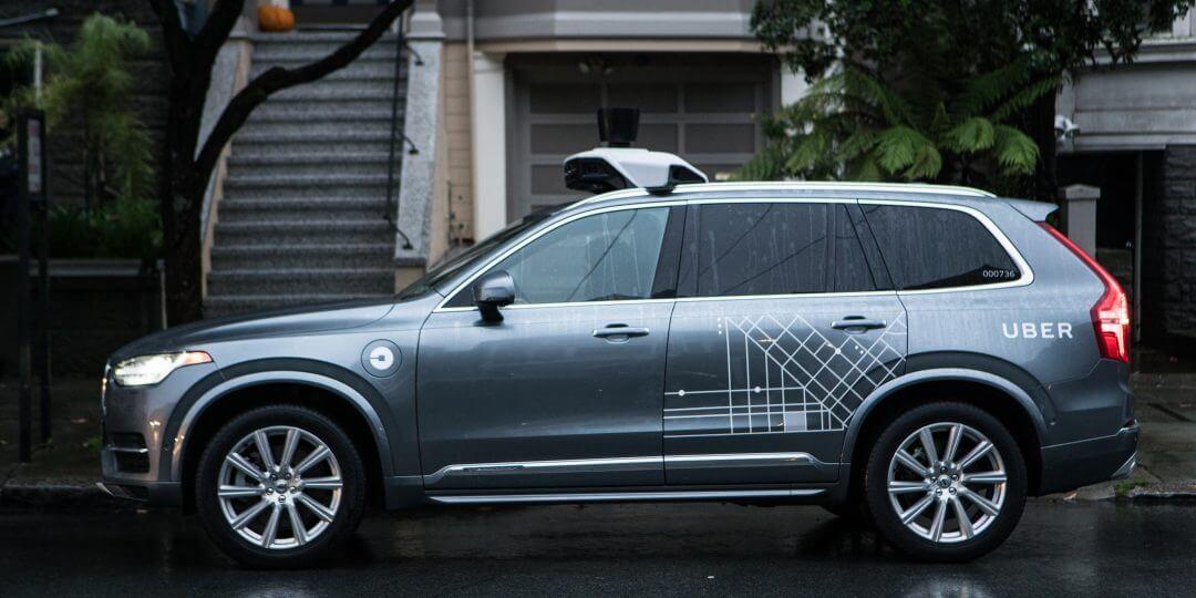 Безпілотний PHEV Uber