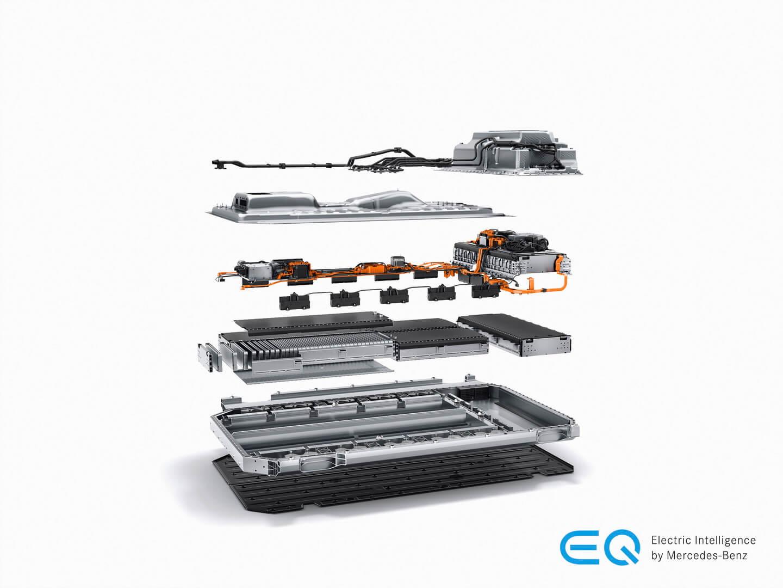 Акумуляторна батарея Mercedes-Benz EQC