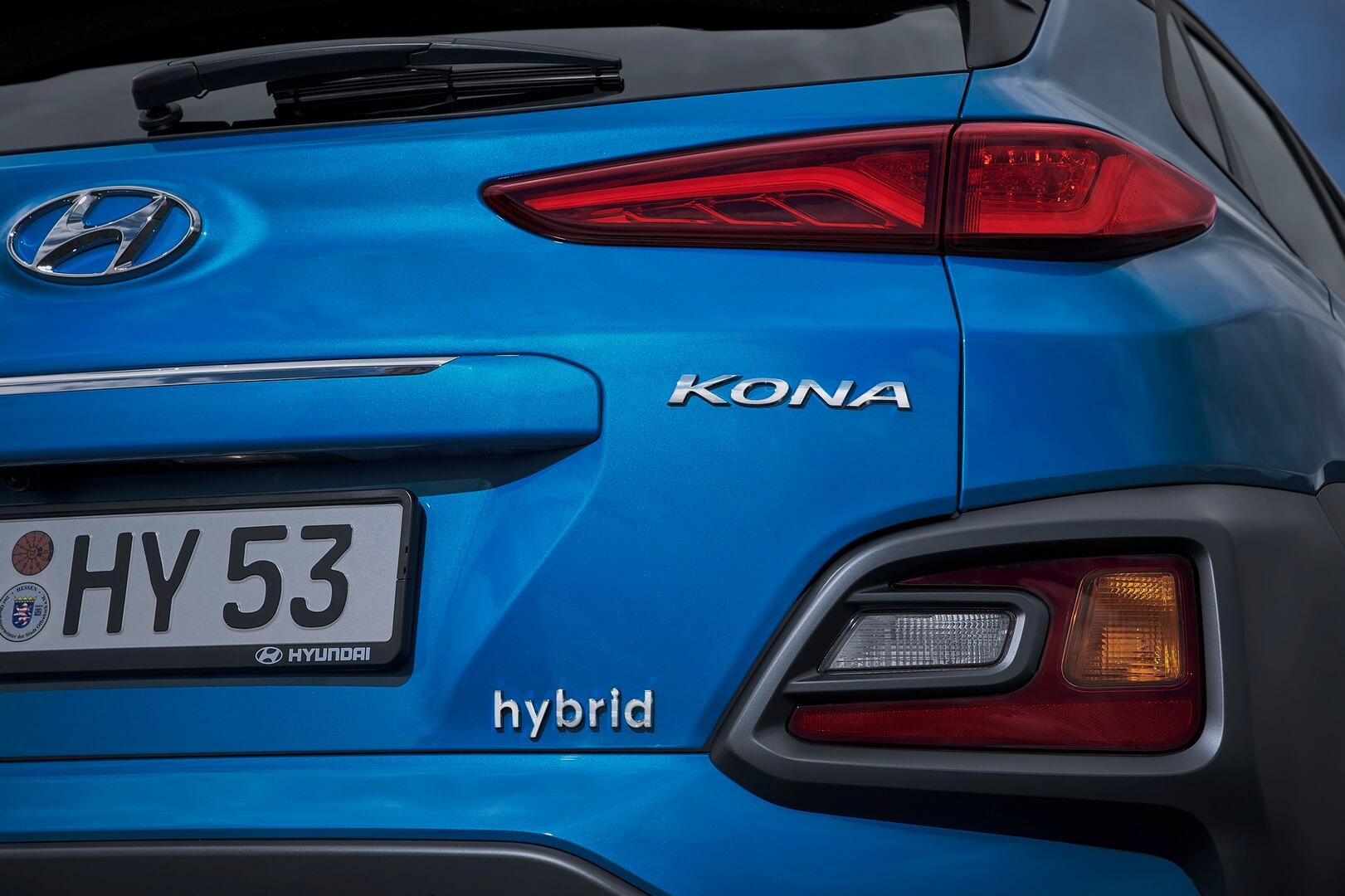 Гібридний кросовер Hyundai Kona