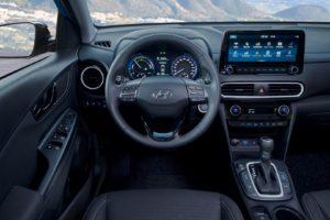 Салон Hyundai Kona Hybrid