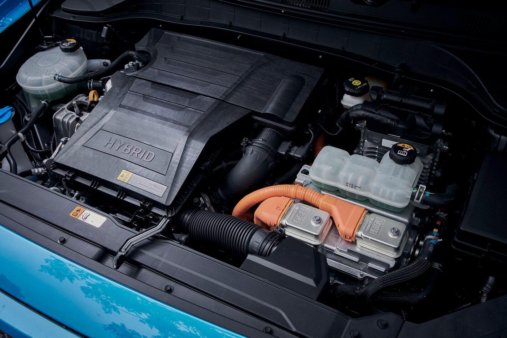 Двигун Hyundai Kona Hybrid