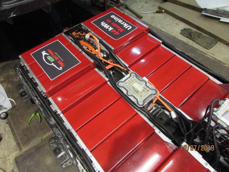 Нова батарея ємністю 44 кВт⋅год з акумуляторами LG Chem