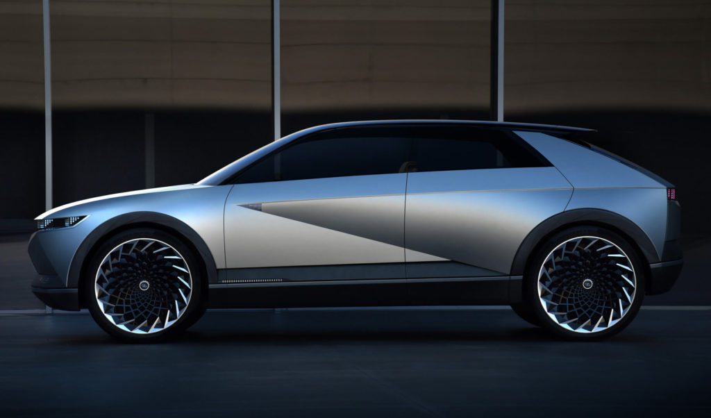 Концепт Hyundai «45» EV