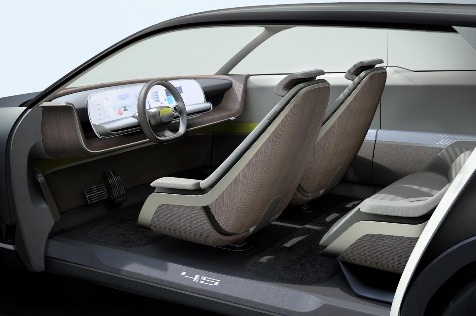 Салон концепта Hyundai «45» EV