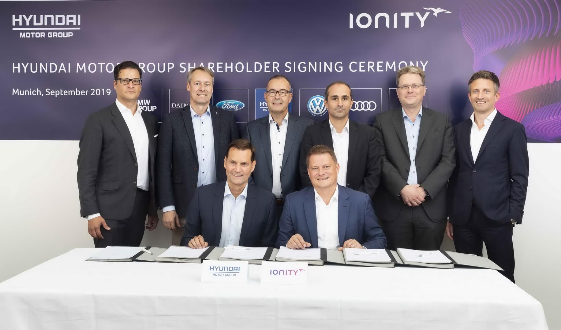 Hyundai Motor інвестує в європейську зарядну мережу для електромобілів IONITY