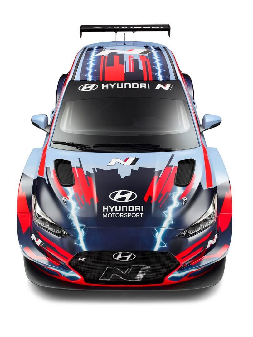 Hyundai представила електричний спорткар Veloster NETCR ізсередньомоторною компоновкою