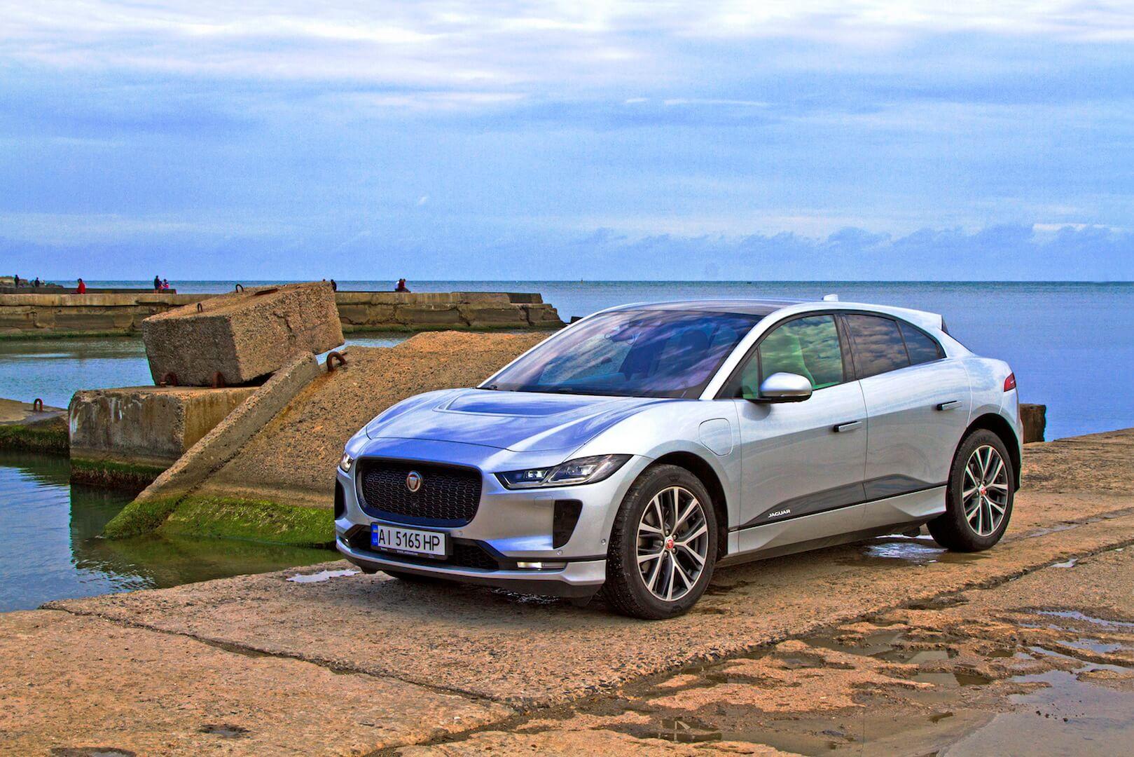 Електромобіль Jaguar I-PACE у Одесі