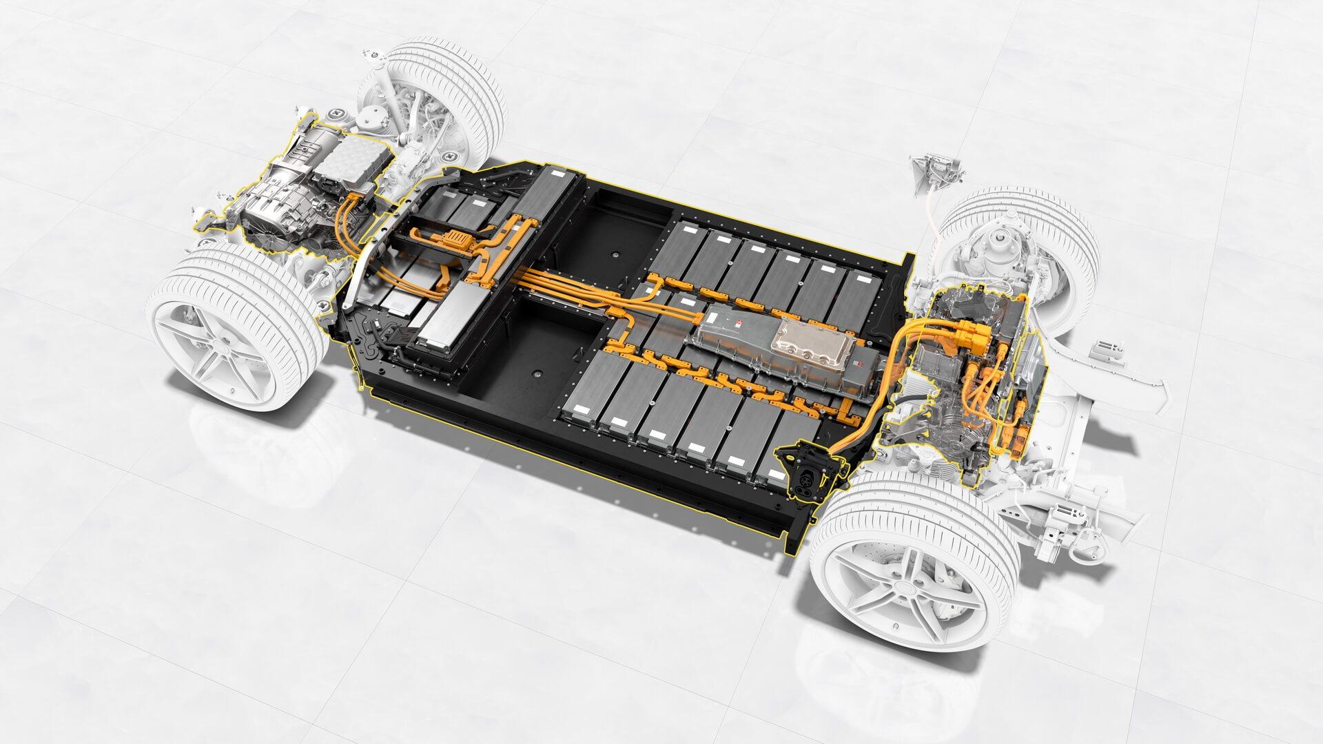 Porsche Taycan – перший серійний електромобіль із системнимною напругою 800 В