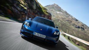 Дизайні екстер'єру Porsche Taycan - фото 7