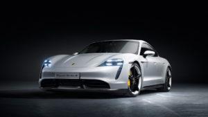 Дизайні екстер'єру Porsche Taycan