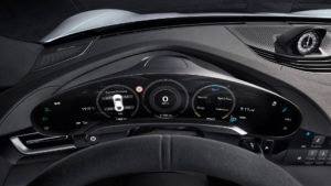 Інтер'єр Porsche Taycan